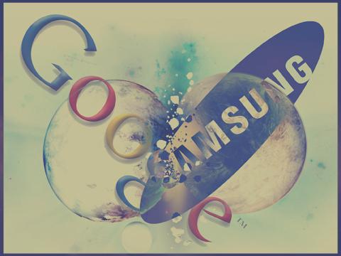 google samsung collide