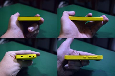Nokia Asha 501 sides