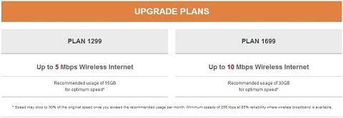 PLDT Ultera upgrade plans