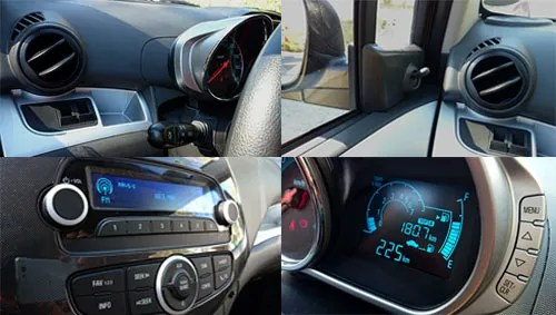 Chevrolet Spark 8 interior
