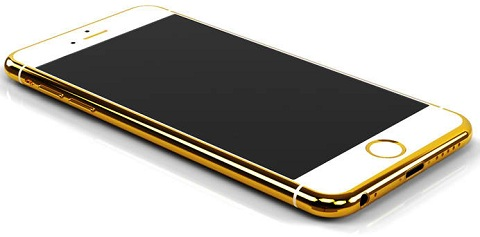 best sneakers bc2d0 2fd82 24-karat Gold iPhone 6 now up for preorder for $4,495 - YugaTech ...