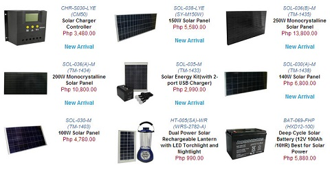 cdrking solar products