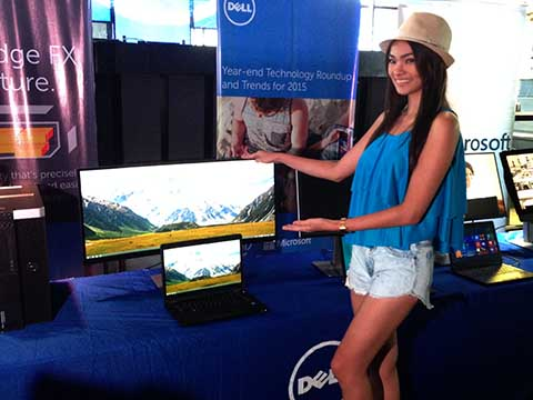 Dell intros 2015 PC monitors, 5K resolution and curved display in