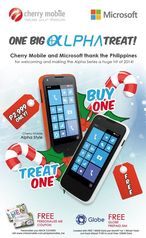 Cherry Mobile Alpha Style Buy 1 take 1