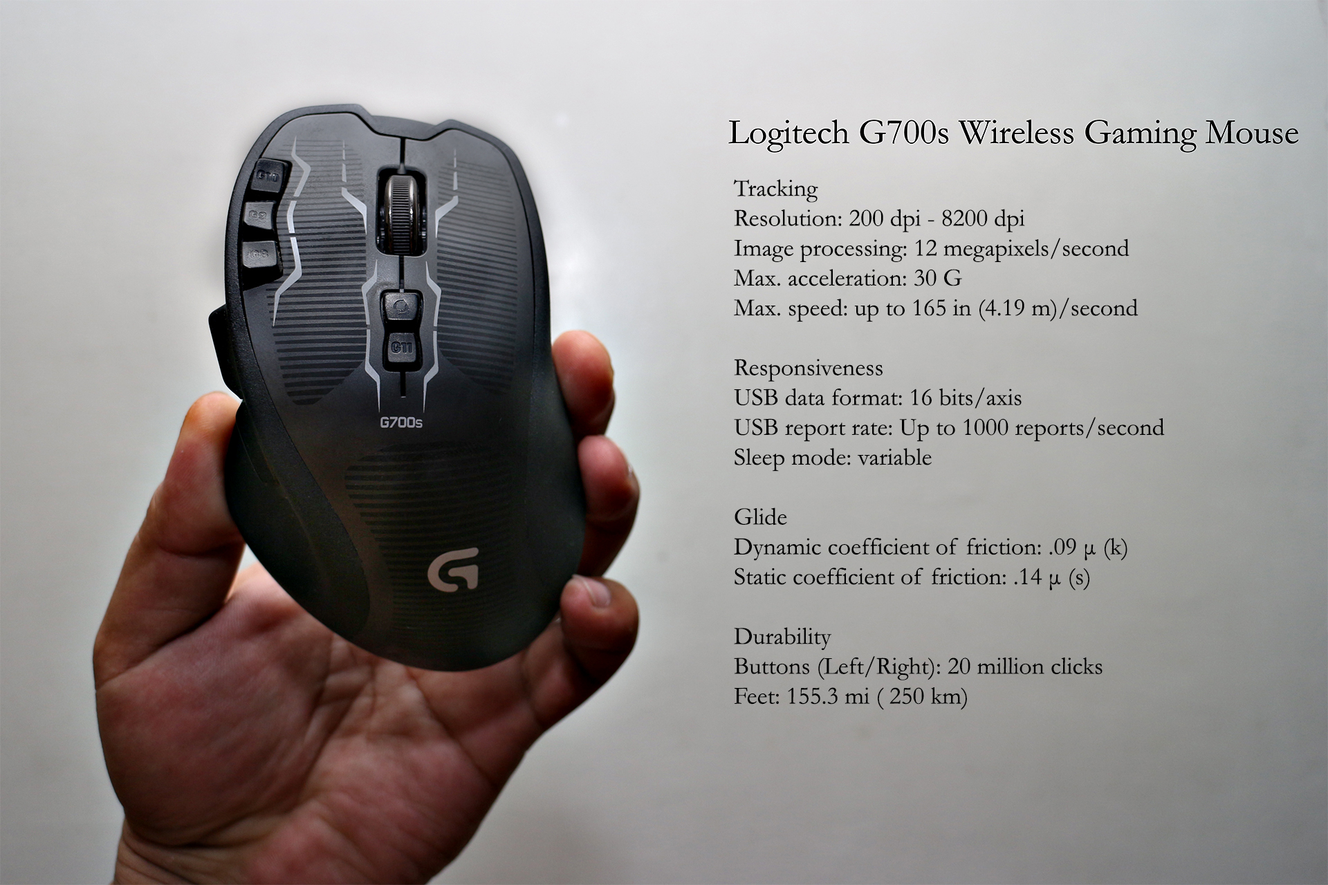Logitech G700s Wireless Gaming Mouse Review - YugaTech