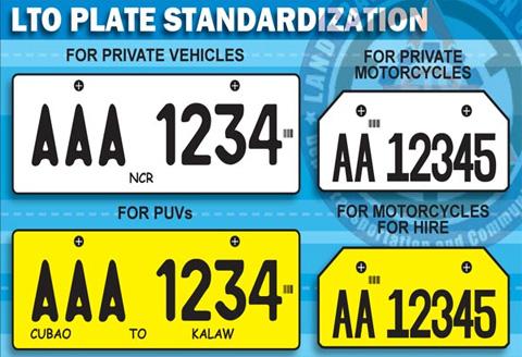 DVLA number plates 2018