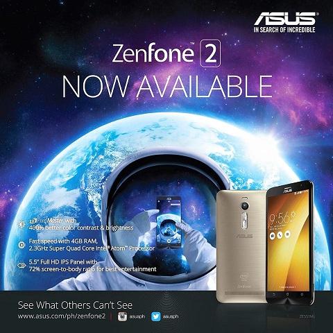 zenfone 2 stores philippines