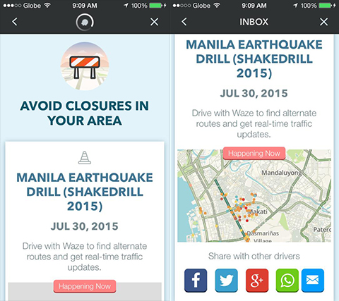 waze-earthquake-drill-manila