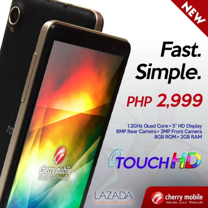 Cherry Mobile Touch HD Now Official - YugaTech | Philippines Tech