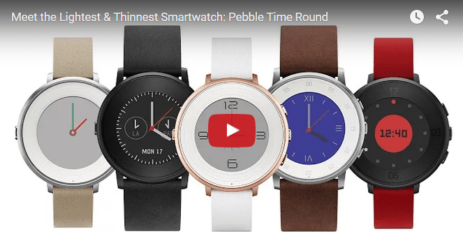Pebble Time Round Video