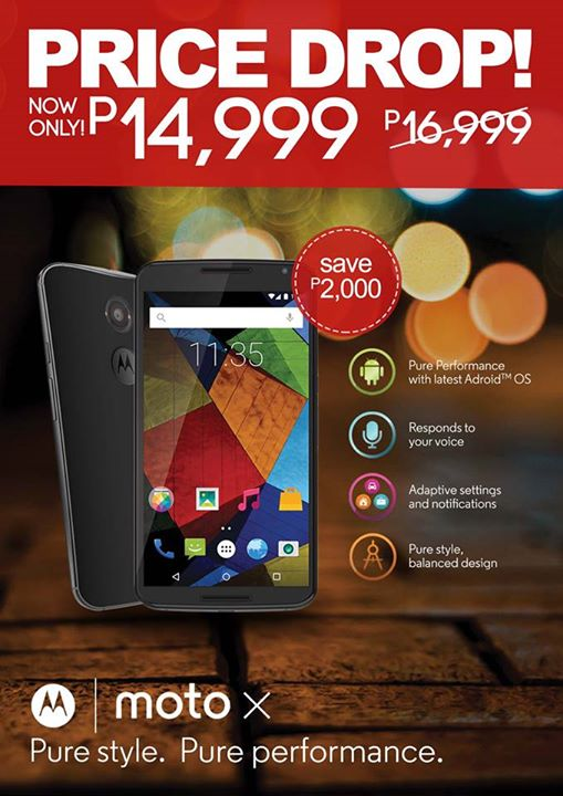 moto x ph price