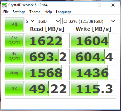 gx700 crystaldiskmark