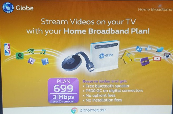 Globe to rollout new Home Broadband Plans Plan 1299 for 10 Mbps