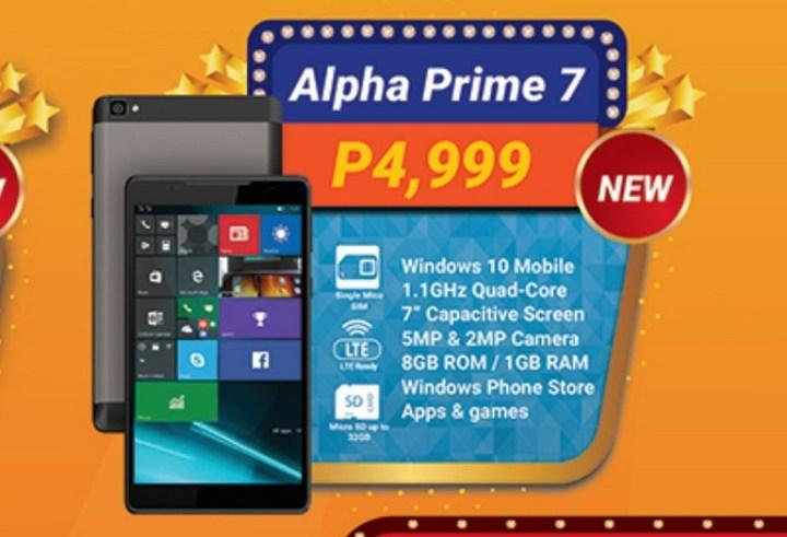 Windows 10 Mobile smartphones under Php7K - YugaTech