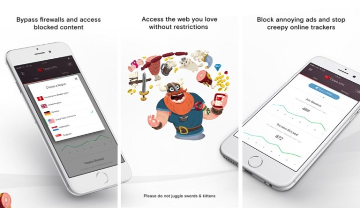 Opera releases free and unlimited VPN app for iOS - YugaTech