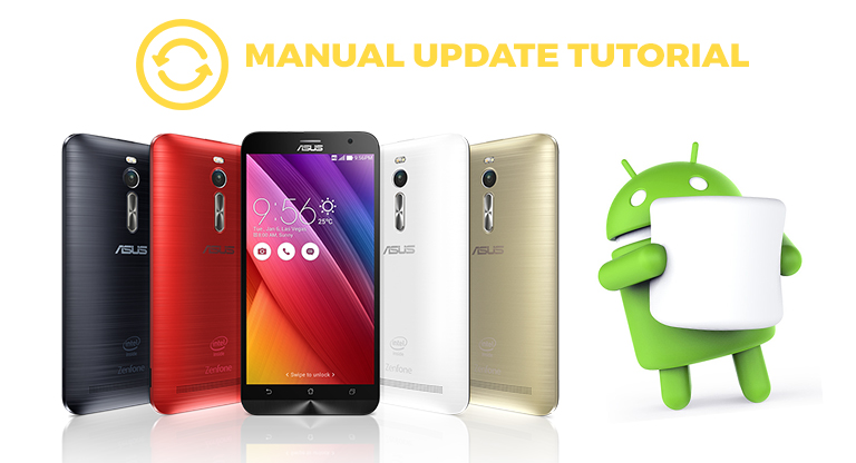Tutorial: How to manually update ZenFone 2 devices into