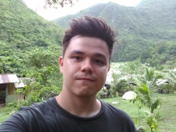 Selfie after trekking