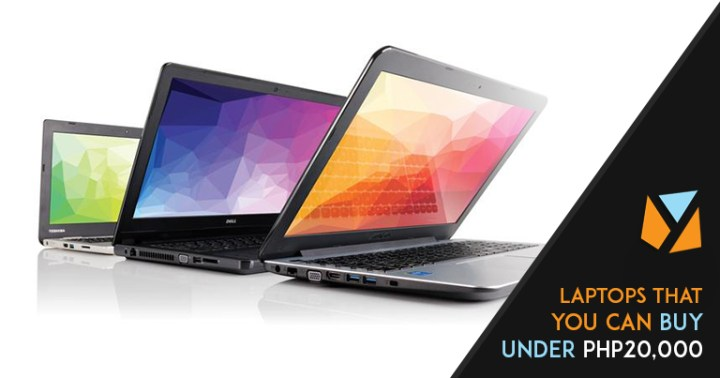 Laptops that you can buy under Php20,000