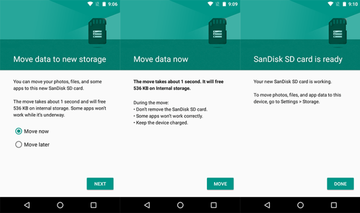 How to Move Your Android Apps from Internal Storage to SD Card
