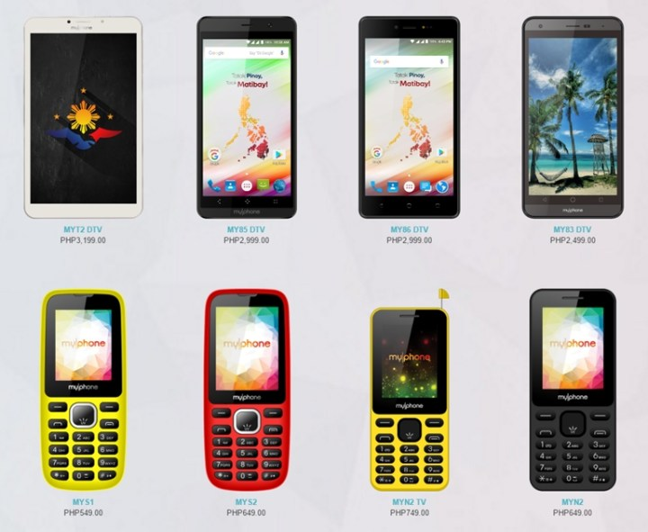 myphone-o-shop-list