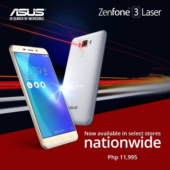 release date abed8 7a246 ASUS Zenfone 3 Laser now available in limited stocks - YugaTech ...