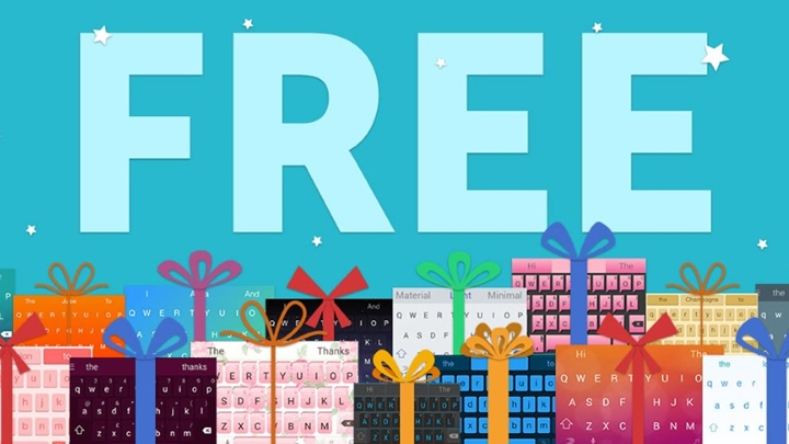 All SwiftKey themes are now for free - YugaTech
