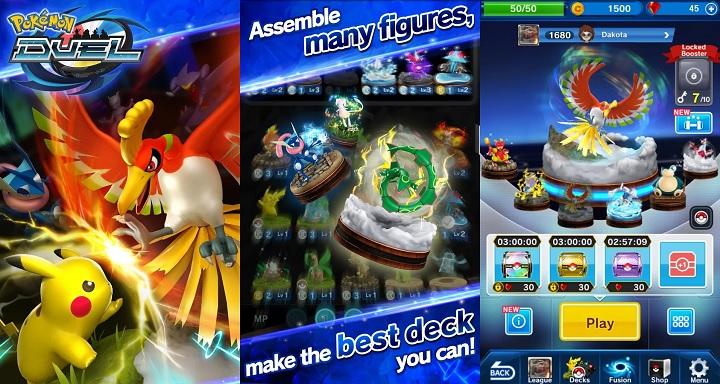 Hasil gambar untuk pokemon duel apk