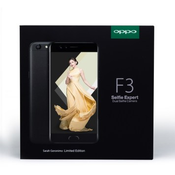 OPPO F3 Sarah Geronimo Limited Edition Package (3)