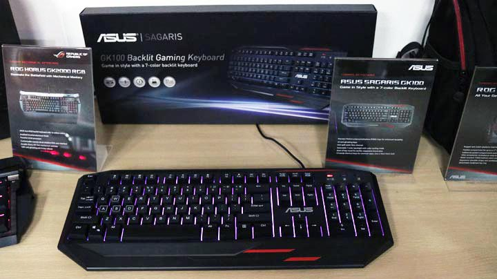 ASUS ROG reveals new gaming peripherals in the Philippines