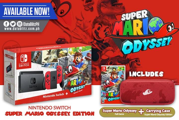 Nintendo Switch Super Mario Odyssey Edition Now At Datablitz