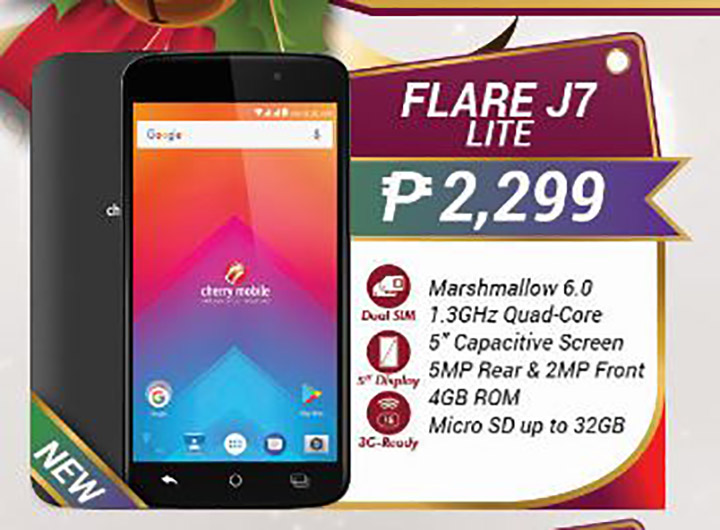online store 5969b d4af0 Cherry Mobile Flare J2 Lite and J7 Lite now official - YugaTech ...