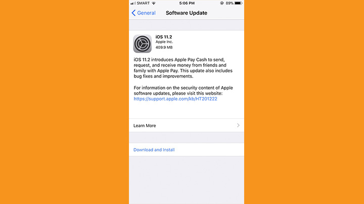 iOS 11 2 is now available for download - YugaTech | Philippines Tech