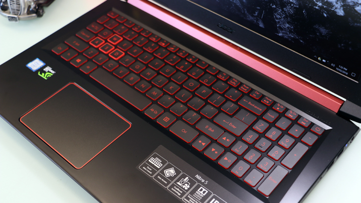 acer nitro 5 an515 51 hands on review first impressions gearopen. Black Bedroom Furniture Sets. Home Design Ideas