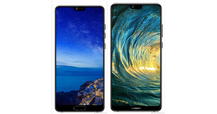 Huawei P20 and P20 Plus show off notches in new leak