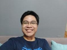Samsung Galaxy A6+ selfie