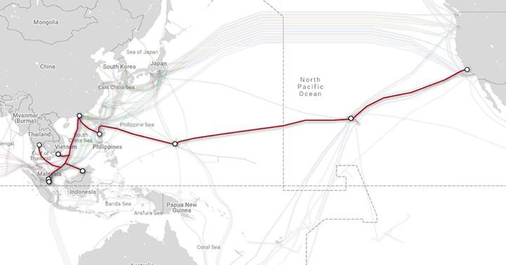 PH undersea cable to Hong Kong cut