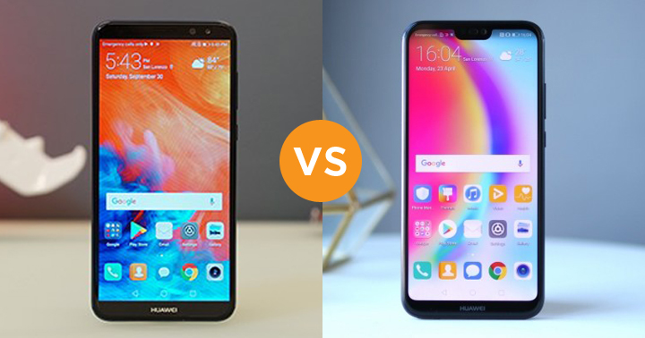 Specs Comparison: Huawei Nova 2i vs Huawei P20 Lite