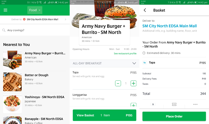 GrabFood now available in the Philippines - YugaTech