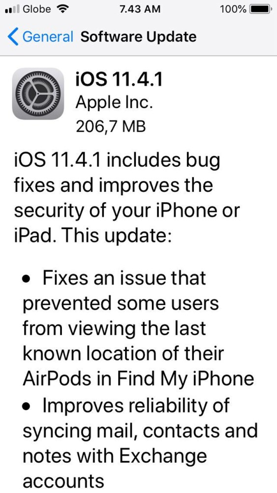 Apple iOS 11 4 1 update includes USB Restricted Mode