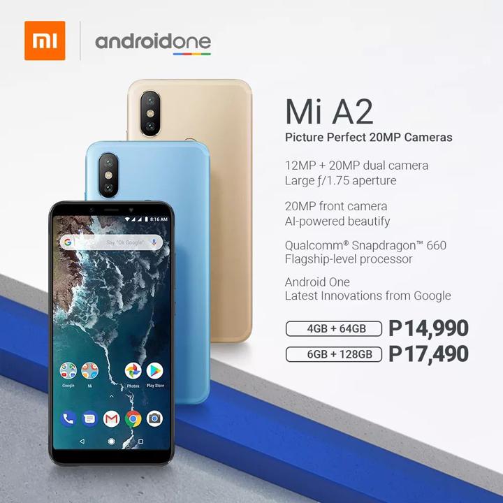 Xiaomi Mi A2, A2 Lite prices in the Philippines - YugaTech