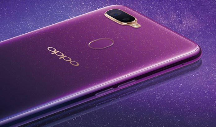 Image result for oppo f9 starry purple