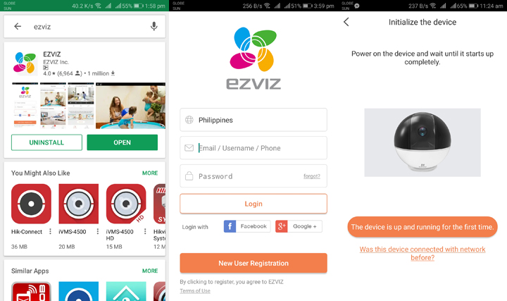 EZVIZ C6T IP Camera: Securing your home with a dome