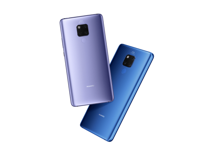 Huawei Mate 20 X vs Samsung Galaxy Note 9 specs comparison