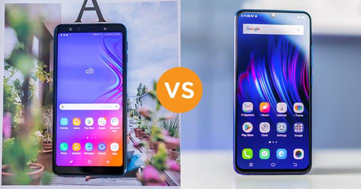 Samsung Galaxy A7 (2018) vs VIVO V11 specs comparison