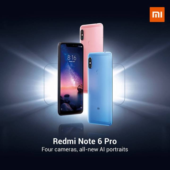 Xiaomi Redmi Note 6 Pro to launch in the Philippines, priced