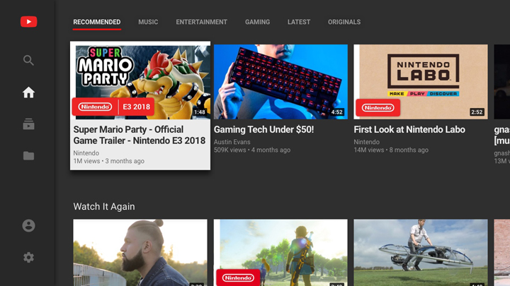 YouTube App for Nintendo Switch now available - YugaTech