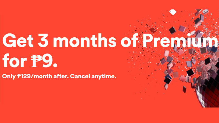 Spotify 3-month Premium Service for PHP 9 launched - YugaTech