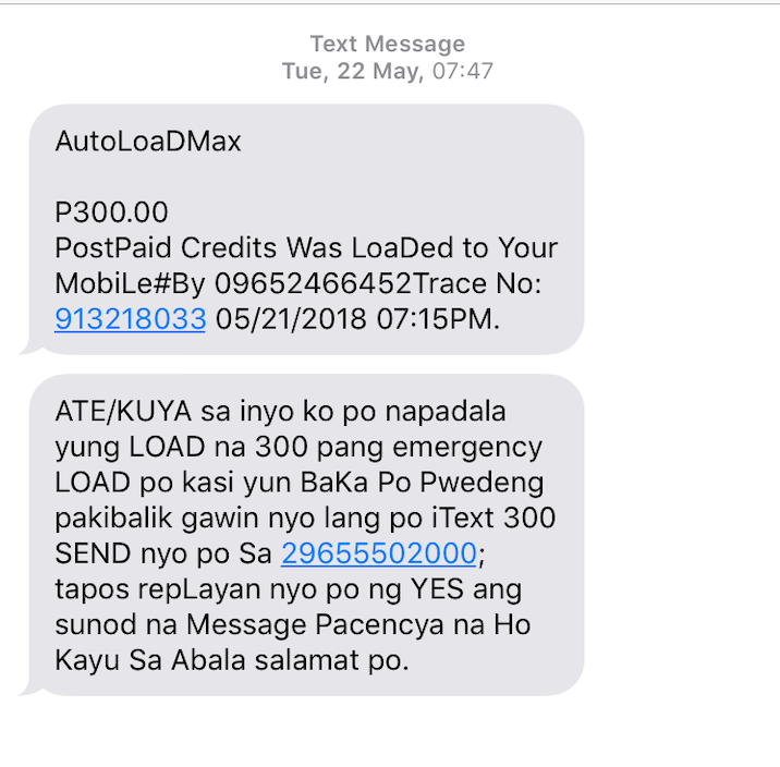 Text scams we still receive today - YugaTech | Philippines Tech News
