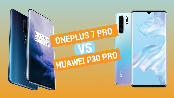 OnePlus 7 Pro vs Huawei P30 Pro specs comparison - YugaTech