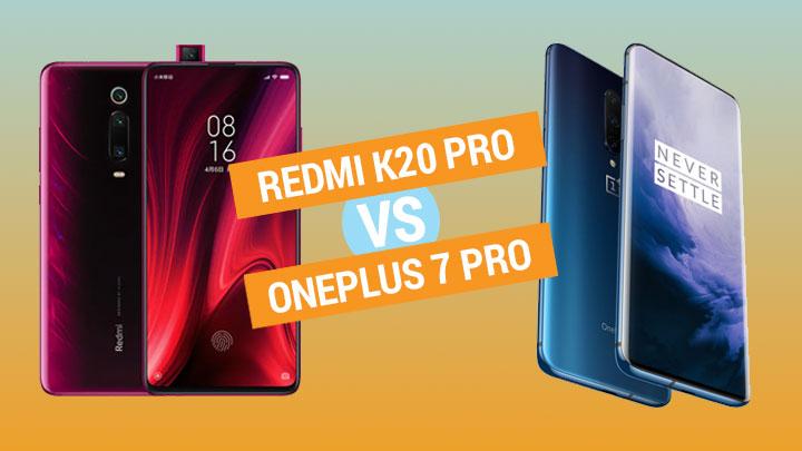 Redmi K20 Pro vs OnePlus 7 Pro specs comparison - YugaTech